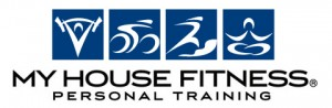My House Fitness Franchise Logo