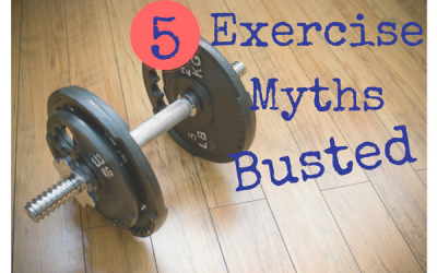 5 Major Exercise Myths Busted!