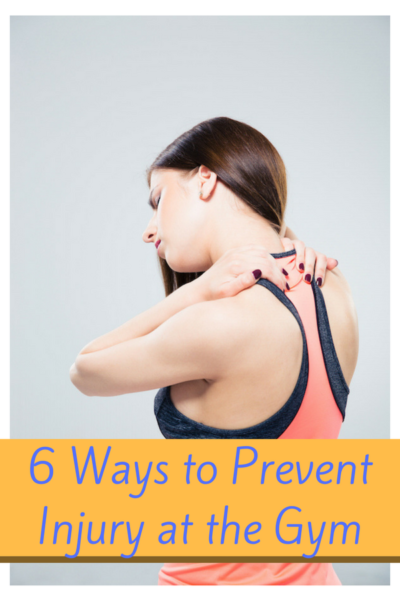 6 Ways to Prevent Injury While Working out at the local Gym