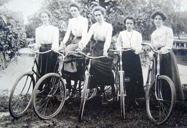 bicycle craze of the 1800's