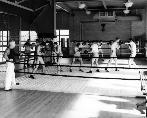 early boxing gyms